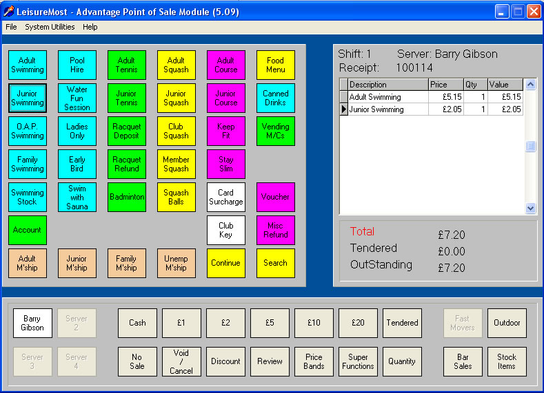Point Of Sale System Stock Control And Till Software For